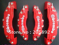 Wholesale The latest styles D Brembo Style Universal Disc Brake Caliper Covers RED set pcsFRONT and