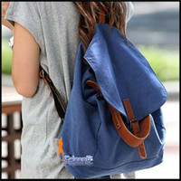 Wholesale fashion girl Backpack Bag Sky Bules Jeans Style Bag Canvas Girl Shoulder Bag BW9142