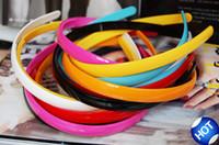 Wholesale Multi color HeadBands Resin Sparking Simple Headbands Hot Sale Hair Jewelry FS124