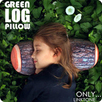Wholesale Green Log Pillow Wood Grain and Wood Throw Pillows