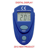Wholesale NEW PRODUCT Digital LCD Coating Thickness Gauge Car Painting Thickness Tester Paint Thickness Meter