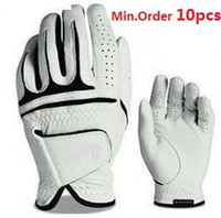 Wholesale HOT Great Brand and New Cabretta Leather Golf Glove for Men Min order