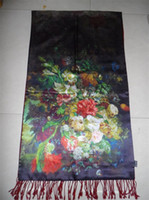 Wholesale Silk napping long scarf