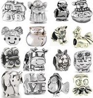 Wholesale 15 off silver beads for Pandora charm the cheap beads bracelet amp necklace