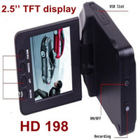Wholesale New HD car DVR camera wide angle degree h198 LCD IR night vision car black box