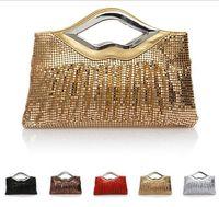 Wholesale Women Party Clutch Bags Fashion Bag Wallets Sequins Wedding Colors Evening Bag