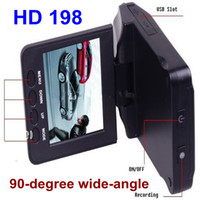 Wholesale Car DVR with IR LED and degree view angle degree screen rotated Car Camera Video Recorder