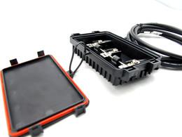 Connecteur mc4 panneau solaire à vendre-Boîte de jonction PV solaire TUV avec connecteur MC4 et câble PV pour panneaux solaires (50W-150W) Livraison gratuite