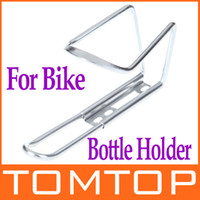 Wholesale Silver Aluminum Alloy Outdoor Sports Bike Bicycle Water Bottle Cage Holder H8209