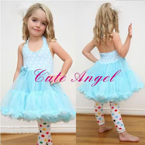2017 Cotton Baby Girls Dresses Kids Clothing Dot Dress Tutu Dress ...