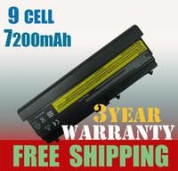 Wholesale Laptop Battery Cell mAh for IBM Lenovo Thinkpad L410 L420 T520i T410i T510 SL410 T4912