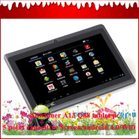 Wholesale Ultra thin inch Android MID tablet pc Manual MB GB Q88 Allwinner A13 Q88 OBD07