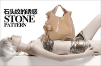 Wholesale Real leather high class lady fashion handbag new style for Spring pc