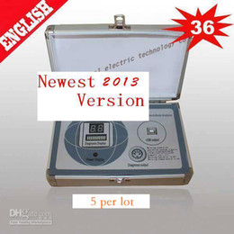 Wholesale DHL reports Quantum Magnetic Resonance Analyzer in English French Spanish items