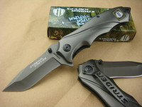 Wholesale promotion Strider Full Titanium Outdoor Tactical Survival Camping Folding pocket Knife knives