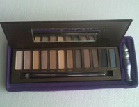 12 colors air eyes - New Colours Eye Shadow with primer potion Free China post Air shipping