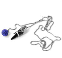 casting jewelry - 1pcs compelling women amp girl gift jewelry casting stainless steel horse claw crystal pendant Necklace