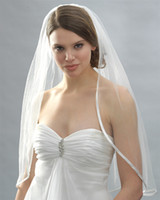 Wholesale Hot sale layer White vory Wedding Veil Bridal Accessories Veil With Comb Wedding Dress for bride