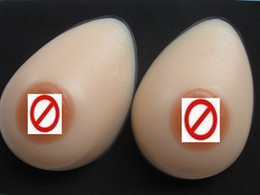 Wholesale Cross dress Silicon Teardrop Breast Form Mastectomy Bra Inserts