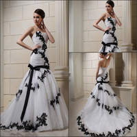 Model Pictures Sweetheart Organza Professional model Real Custom Photos Lace Bridal Gowns Embroidery black and white Wedding Dress