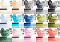 Wholesale 50pcs Fashion Women s Colors Gradual Changing Scarf Wrap Shawl Tassels Colors