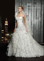 Wholesale 2012 Collection Essence Best selling A Line HK Wedding Dresses Wedding dress bridal dresses