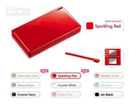 Wholesale Red color Free via EMS for NDS Lite game consoles for GBA ds games do mix color