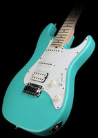 6 Strings seafoam - best Factory Pro Series Model S2 Electric Guitar HSS Alder Body Seafoam Green