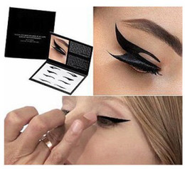 Wholesale Lowest Price pc Eye Tattoo sticker Eye liner Sticker Shadow Smoky Eyes Sticker black eyeliner