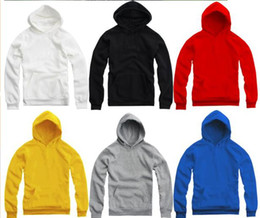 Free shipping blank pullover for spring autumn winter Fleece plain pullover with a hood blank hoodie plain hoodies