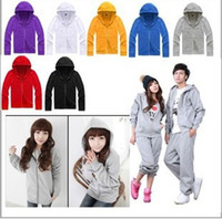 Wholesale for winter cardigans with hood blank hoodie plain hoodies Fleece hoodies color