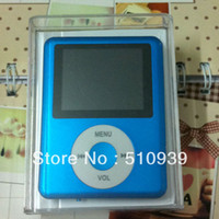 Wholesale 1set freeshipping TH1 quot LCD MP3 MP4 speaker Video Radio FM Player Support GB SD TF Memory Card