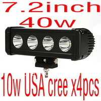Wholesale cheap shipping inch w super USA cree x4pcs w led light bar offroad ATV SUV drivng light