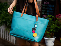 Wholesale 2pcs new style best sell cand sweet handbag ladies double use handbag and shouder bag