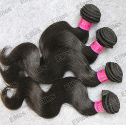 Wholesale Queen Hair UNPROCESSED Brazilian Virgin Hair Weave Body Wave Remy Hairs Weft FAST SHIPPING