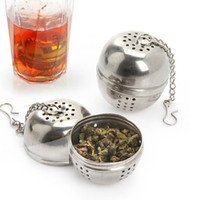 Wholesale Stainless Tea Infuser Ball Tea Leaves Filtration Net Herbal Tea Filter Worldwide