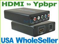 Wholesale HDMI to RCA Component Ypbpr AV Converter for PS3 DVD LK