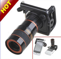 Wholesale Mobile Cell Phone Telescope Digital Binoculars Camera Fish Eye Lens