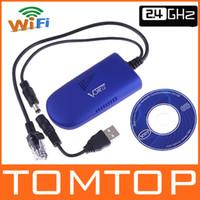 Wholesale Vonets IEEE B G Wireless WIFI Dongle Bridge Ghz DC5V V W For Xbox PS3 C975