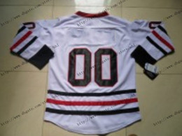 Wholesale 2013 New Cheap White Winter Classic Ice Hockey Jersey Limited Authentic Jerseys China Size