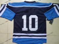 Ice Hockey wholesale china jersey - 2013 New Cheap Dark Blue Winter Classic Ice Hockey Jersey Limited Authentic Jerseys China