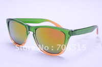 Wholesale hot sunglasses women with box sun glasses frog skin sunglass at lowest price free shippi