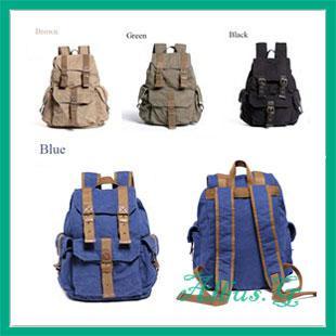 2013 Fashion Bag Backpacks School Satchel iPad Laptop Holdall Canvas ...
