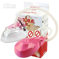 Wholesale Electric Feminine Clitoral Vacuum Suction Pump Plastic Vagina Clitoris Pump Masturbation for Women Sex Toys Adult Products W vibrator bullet
