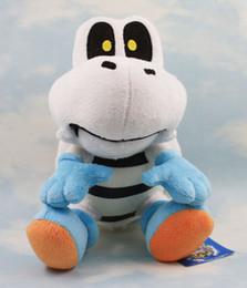 "Super Mario Brothers Plush Toy 10"" Dry Bones Stuffed Plush Toy Cartoon Animal Toys Doll Free shipping"