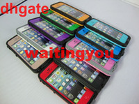 Wholesale New Waterproof Case for iphone iPhone S colors AAAAA quality dhl free