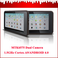 Wholesale 7 quot Tablet PC With GPS Android MTK6575 GHz Cortex G DDR3 With G Dual SIM Card Phone Call OBD07