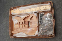 Wholesale Brand New ST electric project guitar KIT DIYwith all accessories