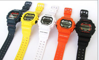 Wholesale GX56 GX SHOCKS fashion women bracelet watch men sport digital children candy cartoon wristwatches