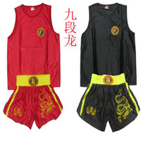 Wholesale Men Boxing MMA Muay Thai Kung Fu Martial Arts Sanda Uniform Shorts